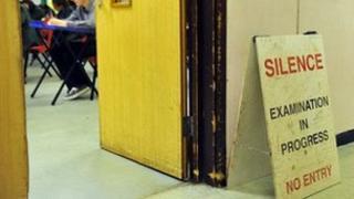 exam silence sign