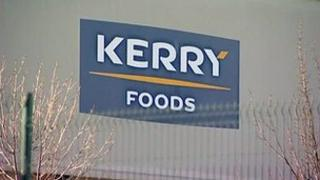 Kerry Foods sign