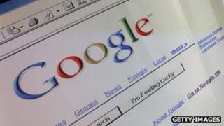 Google website page