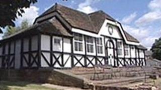 The pavilion at Boughton Park