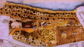 Garden map of The Mount