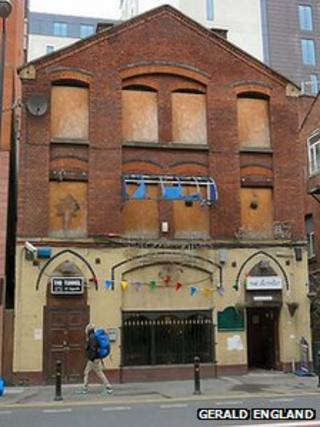 The building which housed The Twisted Wheel