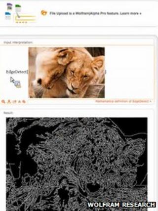 Wolfram Alpha pro screenshot