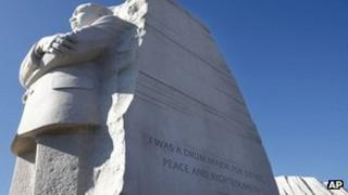 The Martin Luther King, Jr Memorial in Washington