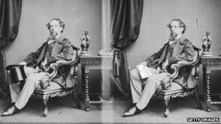 Portraits of Charles Dickens in 1860