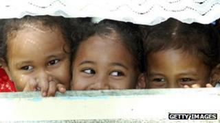Tokelau kids