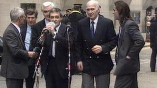 Birmingham Six after release