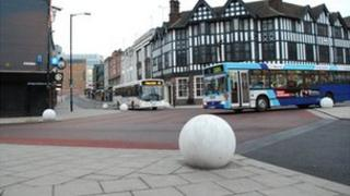 Shared space in Coventry city centre