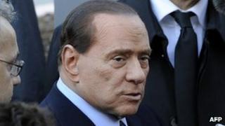 Silvio Berlusconi, 8 Dec 11