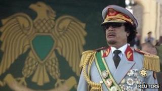 Muammar Gaddafi (file photo)