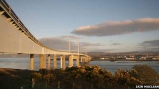 Kessock Bridge. Pic: Copyright of Iain Maclean