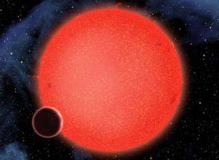 Artist's impression of GJ 1214b