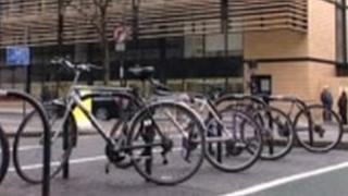 bikes outside UCL London