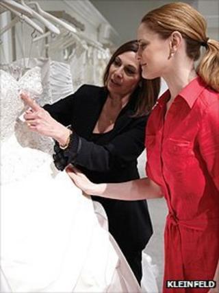 Kleinfeld bridal store