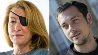 Marie Colvin and Remi Ochlik (file)