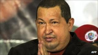 Venezuelan President Hugo Chavez, 24 January 2012