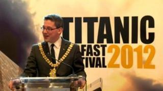 Belfast's Lord Mayor Niall O Donnghaile