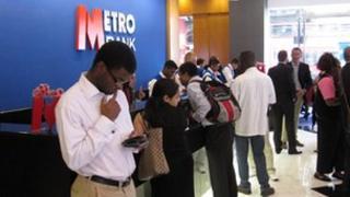 Metro Bank opening in 2010