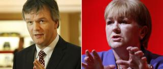 Michael Moore and Johann Lamont