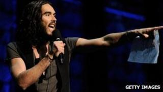 Russell Brand at the Secret Policeman's Ball