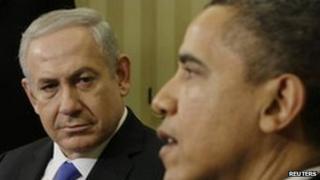 Israeli PM Netanyahu and President Obama