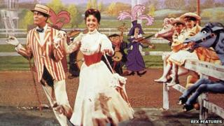 Scene from Mary Poppins