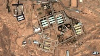 Satellite image of Parchin nuclear facility in Iran. File photo