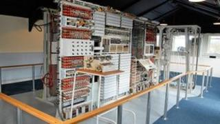 Colossus gallery at The National Museum of Computing