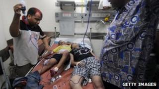 Children in hospital in Mumbai