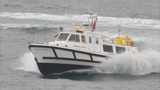 Guernsey's marine ambulance: Flying Christine III
