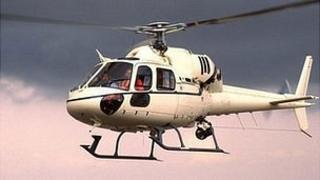 Helicopter AS355N Twin Squirrel
