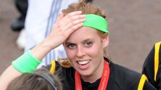 Princess Beatrice took part in the Virgin London Marathon in 2010