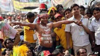 Opposition rally in Dhaka