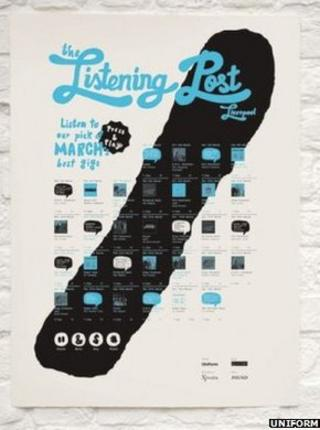 Listening Post digital poster