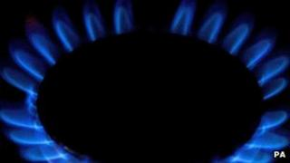 Gas ring on oven