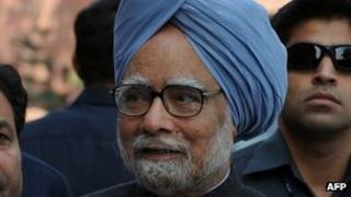 Indian Prime Minister Manmohan Singh - 12 March 2012
