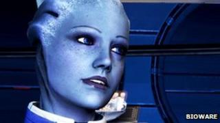 A screenshot from Mass Effect 3