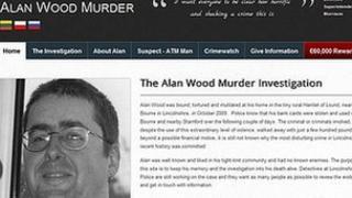 Alan Wood murder investigation website