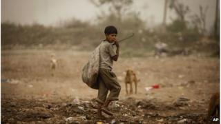 Rag picker in India