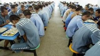 File photo: China prison