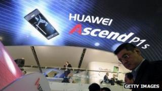 Huawei stand, Mobile World Congress