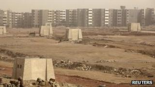 Construction site in Egypt