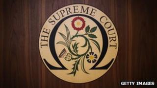 UK Supreme Court insignia