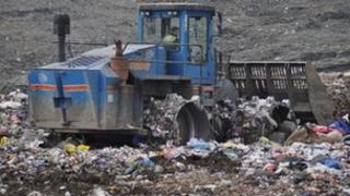 Landfill site, Dimmer, Castle Cary