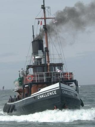 Steam tug Challenge