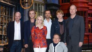 Harry Potter stars visit new studio tour