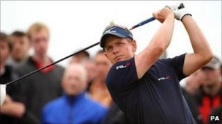 Luke Donald playing in last year's Barclays Open