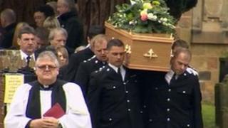 Det Ch Supt Stewart Swinson's funeral