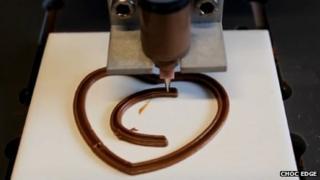 Chocolate printer