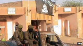 Ansar Dine group in Timbuktu, 3 April